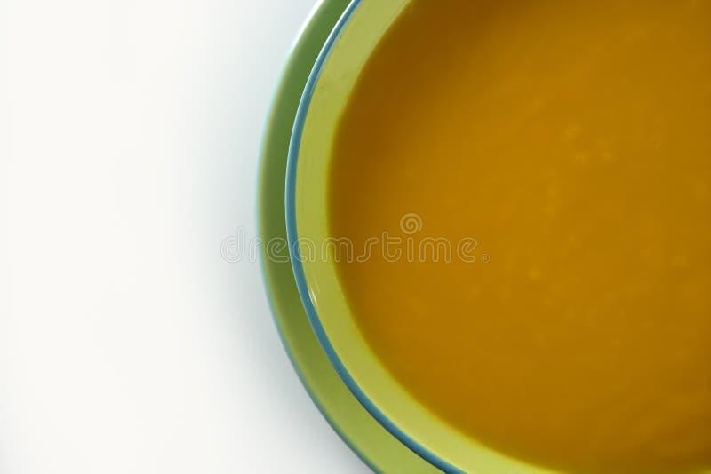 可口南瓜汤 免版税库存图片