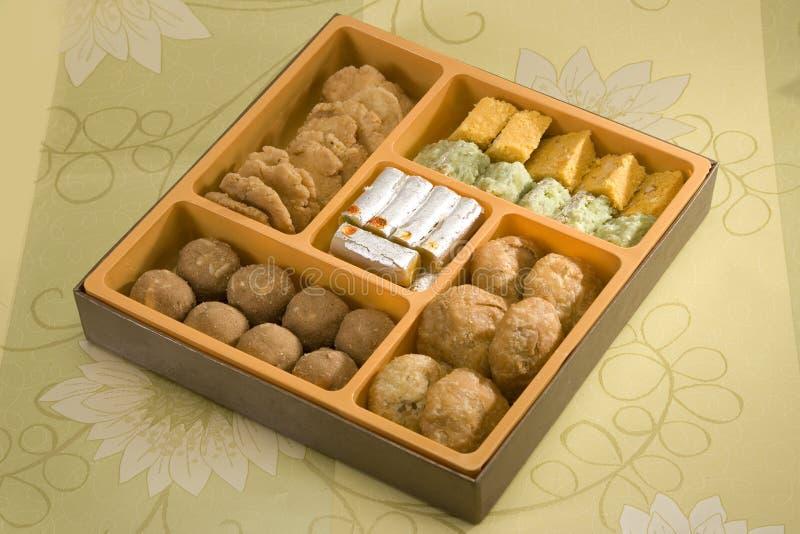 可口印地安甜点旁遮普语Bhaji 免版税库存照片