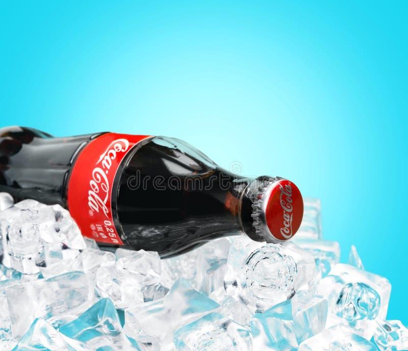 可口可乐饮料 库存图片