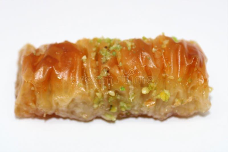 可口土耳其样式Antep果仁蜜酥饼 免版税库存图片