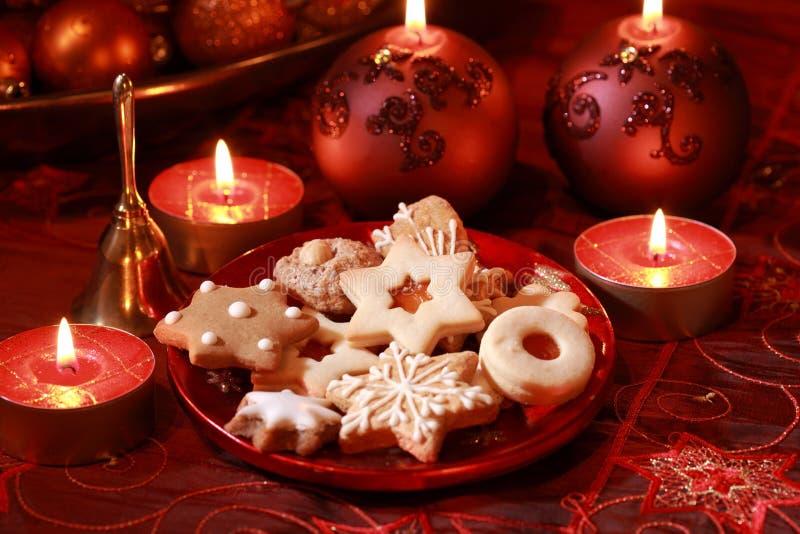 可口圣诞节的曲奇饼 图库摄影