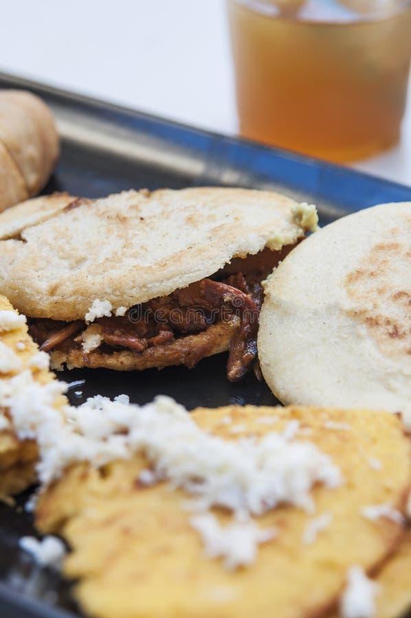 可口委内瑞拉食物 免版税图库摄影