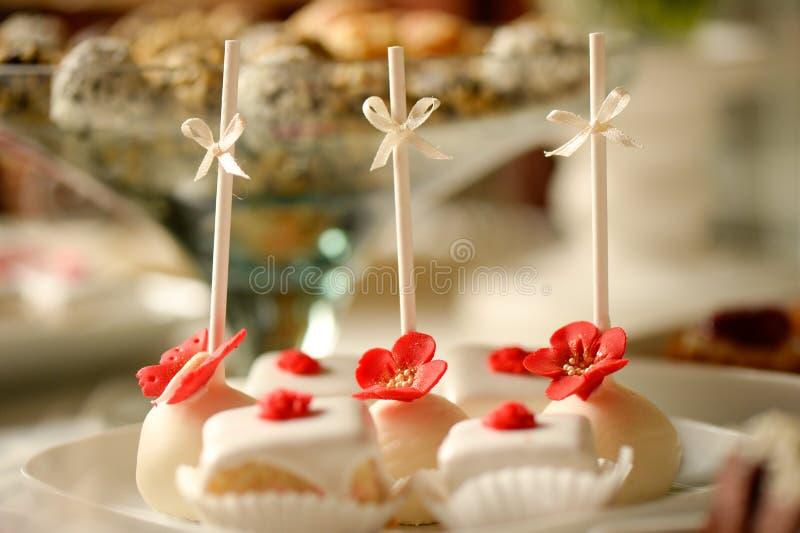 可口微型蛋糕 图库摄影
