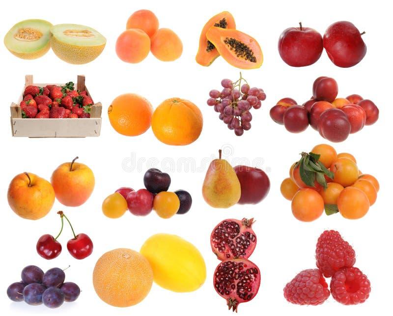 可口新鲜水果 免版税库存图片
