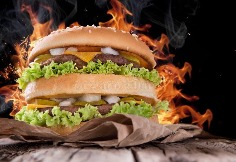 可口汉堡包 免版税图库摄影