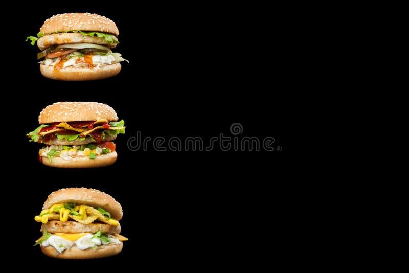 可口汉堡 库存图片