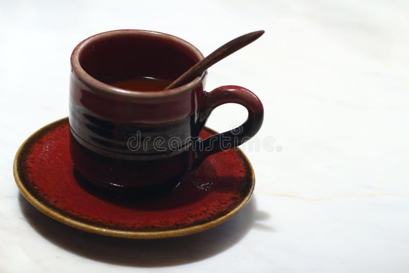 可口的咖啡杯 免版税库存图片