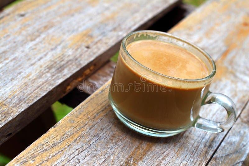 可口的咖啡杯 库存照片