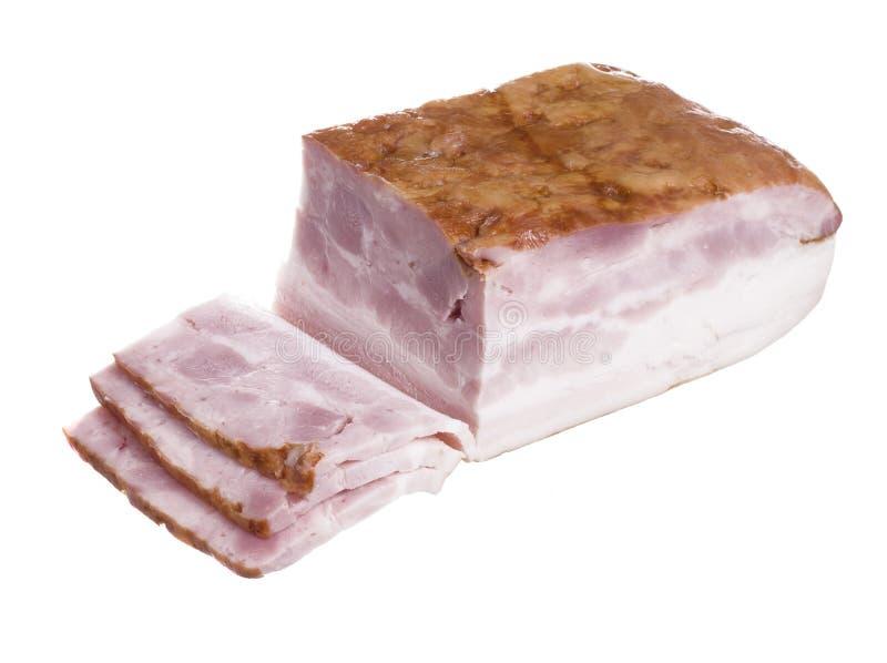 可口的烟肉 库存图片