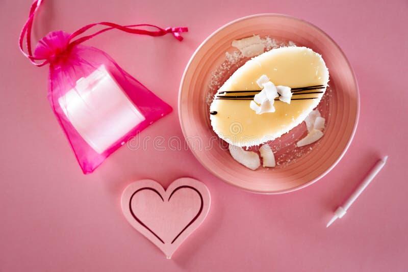 可口的蛋糕 图库摄影