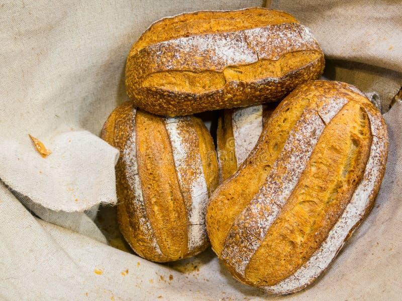 可口的面包 图库摄影