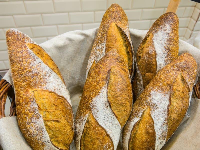 可口的面包 免版税库存图片