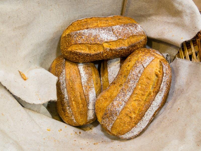 可口的面包 库存图片
