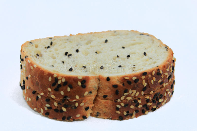 可口面包用立即可食的芝麻 免版税图库摄影