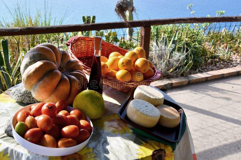 可口食物,卡拉布里亚的专业 图库摄影