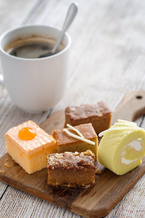 可口黄油的蛋糕 库存图片