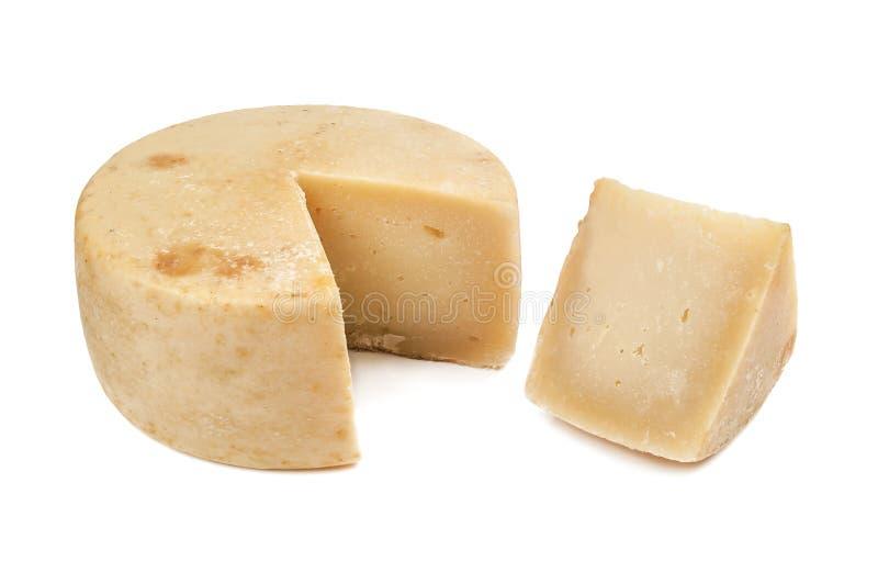 可口pecorino乳酪 免版税库存照片
