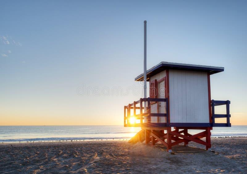 可可粉海滩,佛罗里达 库存照片