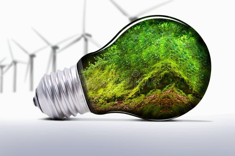 可延续的能源 免版税库存照片