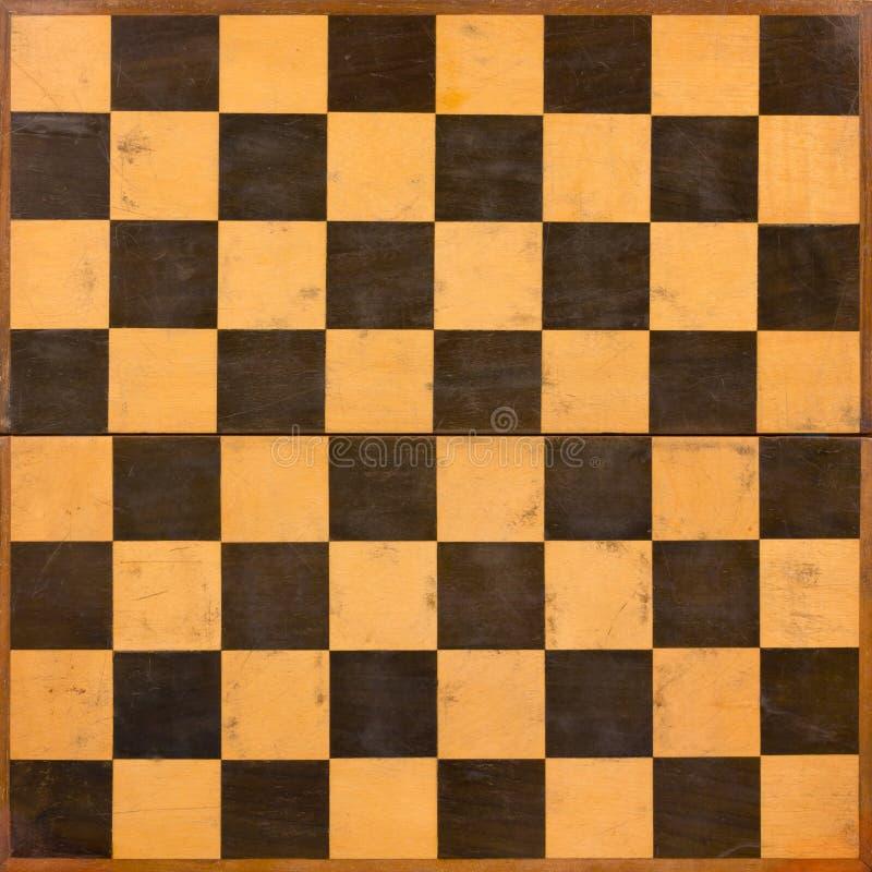 可折叠的木棋枰 免版税库存图片