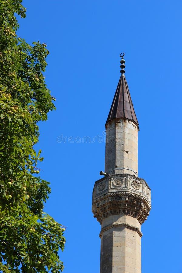 可汗s宫殿 尖塔 免版税库存照片