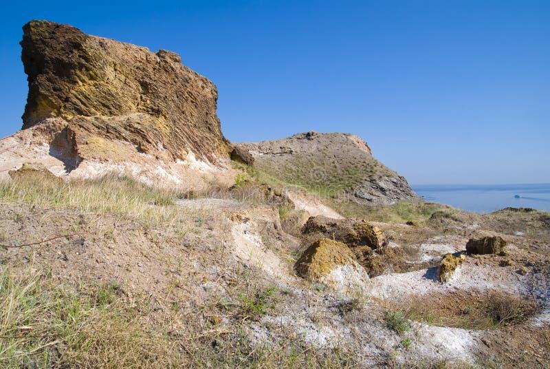 可燃烧的定金板岩 免版税图库摄影