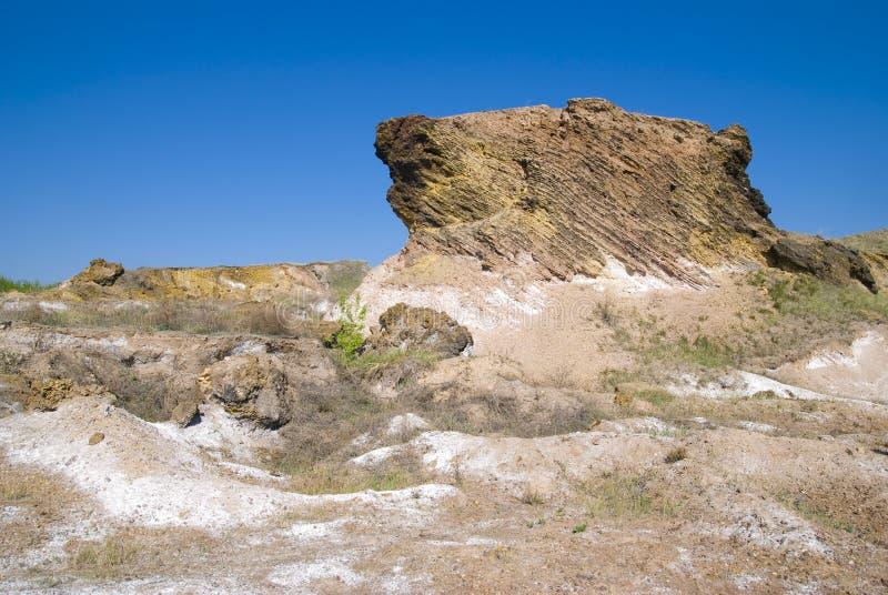 可燃烧的定金板岩 免版税库存照片