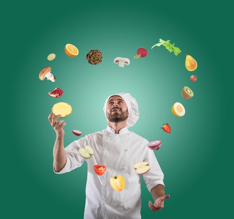 可爱和创造性的食物 免版税库存图片