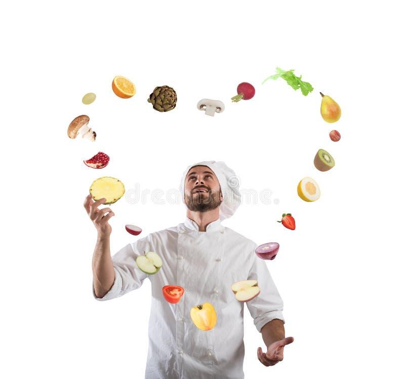 可爱和创造性的食物 免版税图库摄影
