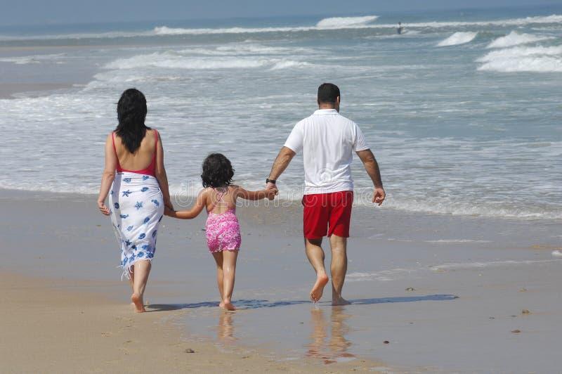 可爱海滩的系列 图库摄影