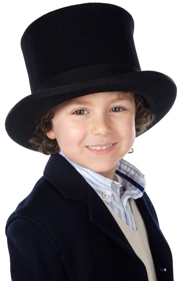可爱的儿童帽子 免版税图库摄影