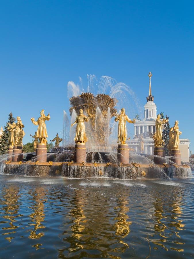 可爱的历史的喷泉 免版税库存照片