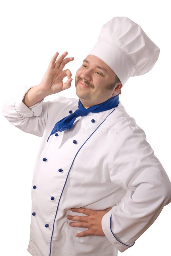可爱的厨师 库存照片