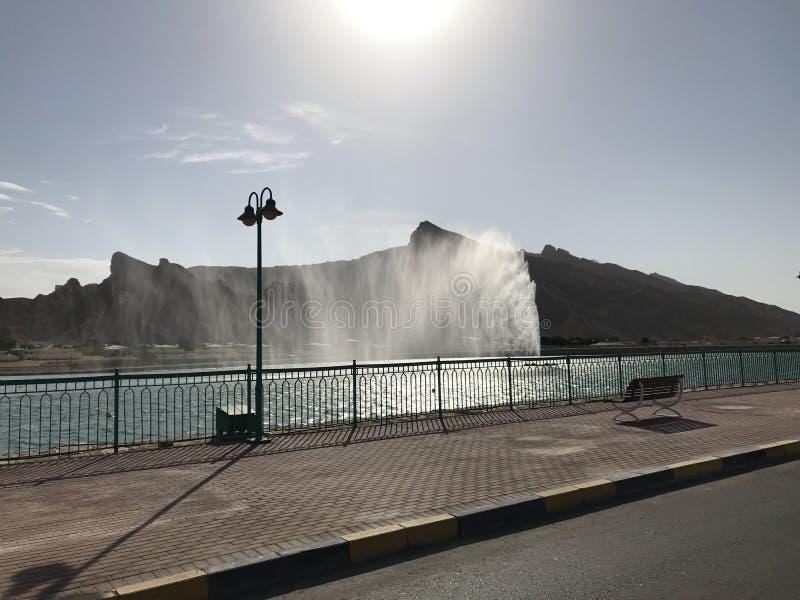 可爱的喷泉 免版税库存图片