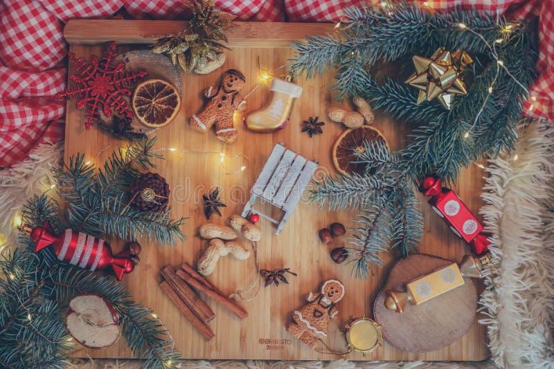 可爱的圣诞节震动 免版税库存图片