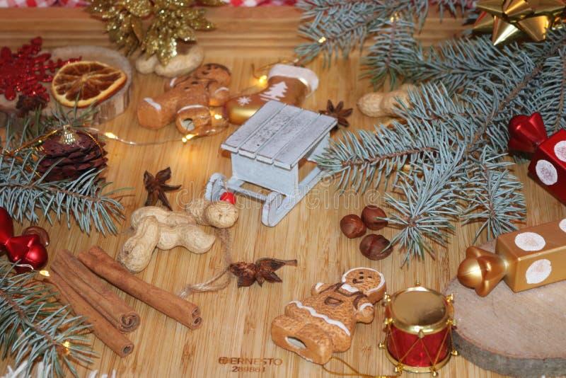可爱的圣诞节震动 图库摄影