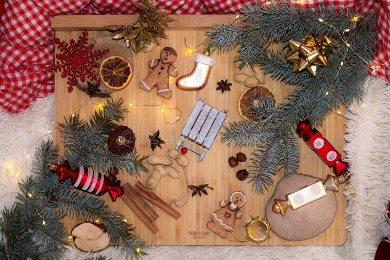 可爱的圣诞节震动 免版税库存照片
