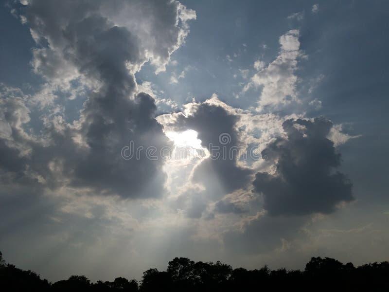 可爱的太阳图象 库存照片