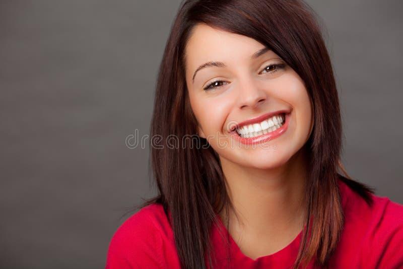 可爱的妇女 免版税库存照片