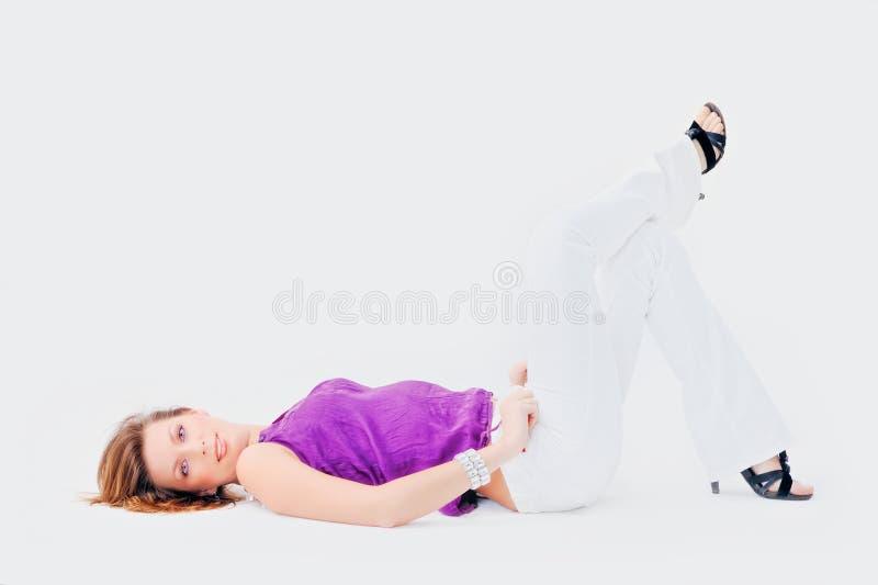 可爱的妇女 免版税图库摄影