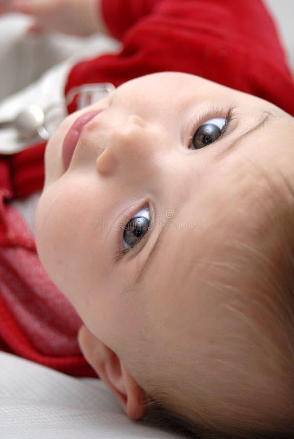 可爱的婴孩 免版税库存图片