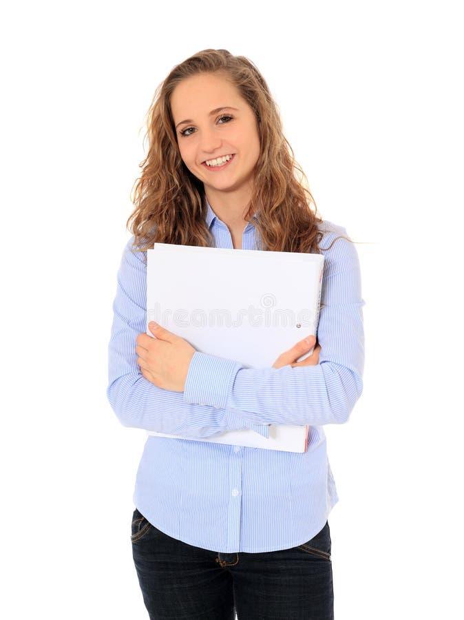 可爱的学员 免版税库存图片