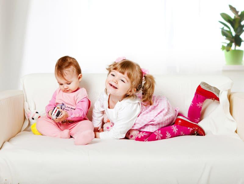 可爱的孩子二 免版税库存照片