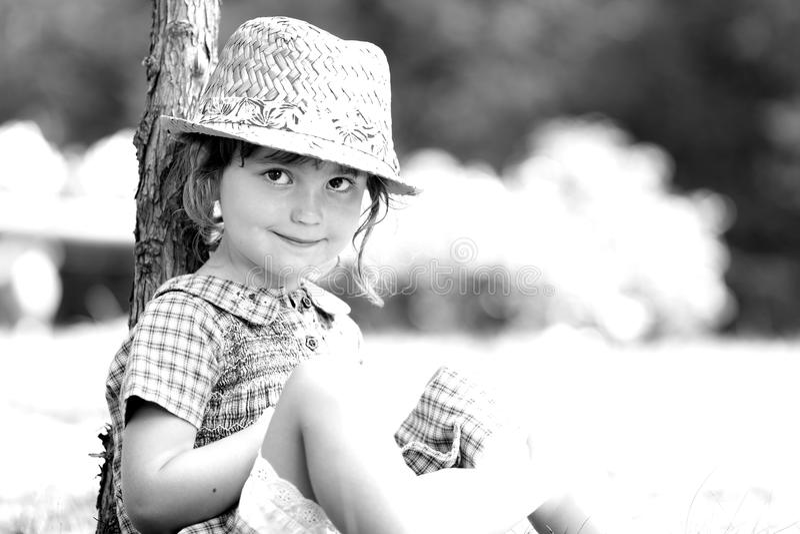 可爱的小女孩 免版税图库摄影