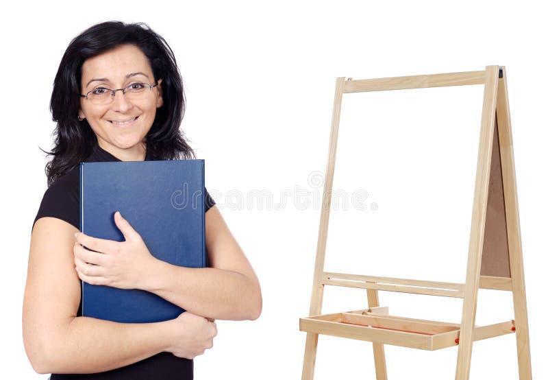 可爱的教师 库存图片