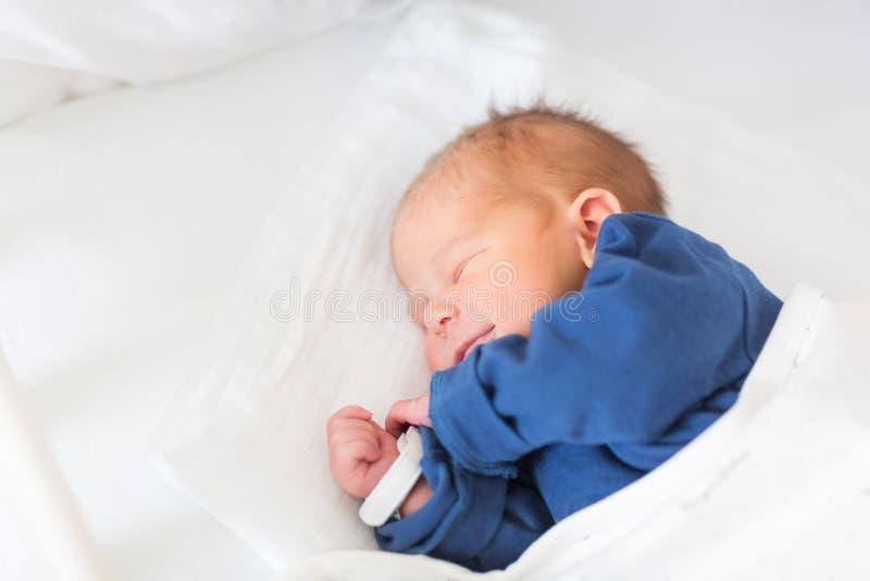 可爱的男婴 库存图片
