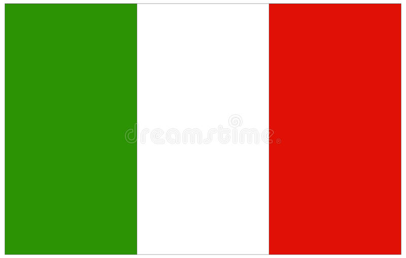 可用的标志玻璃意大利样式向量 皇族释放例证