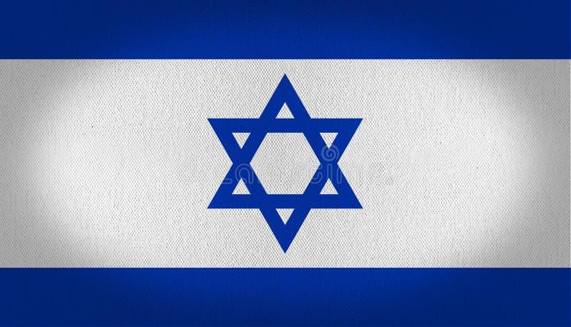 可用的标志玻璃以色列样式向量 皇族释放例证
