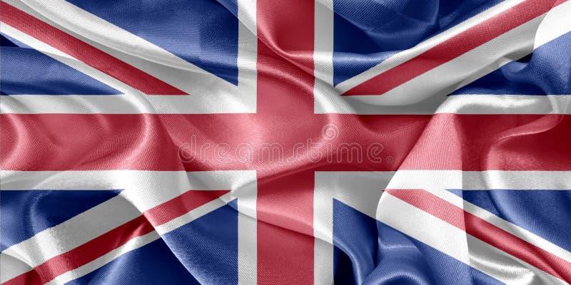 可用的英国标志玻璃样式向量 免版税库存照片