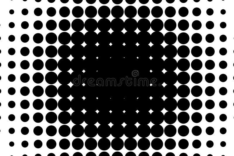动画片背景 流行艺术样式 与小圈子,小点的样式 中间影调光点图形 为图片